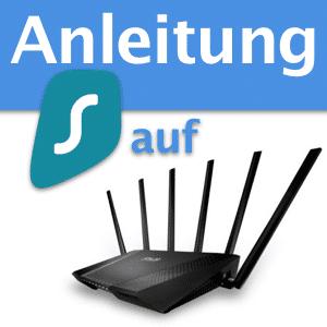 Surfshark VPN auf ASUS Router verwenden