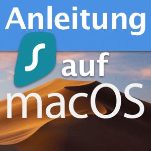 Surfshark VPN auf macOS installieren